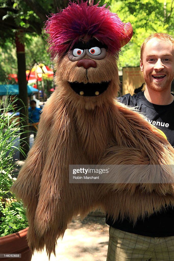 Trekkie, Michael Liscio Jr., of Avenue Q visits at Bronx Zoo on July 12, 2012 in New York City.