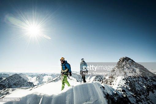 Trekking in the Austrian Alps