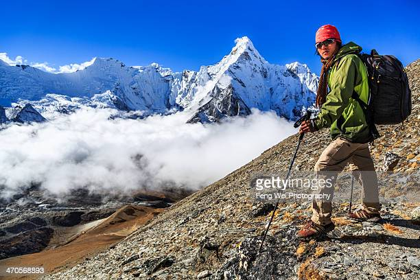 Trekking In the Himalayas, Sagarmatha NP, Nepal