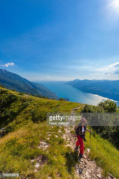 Trekking on Monte Baldo