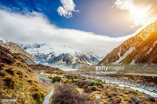 Trekking Route in the Mount Cook