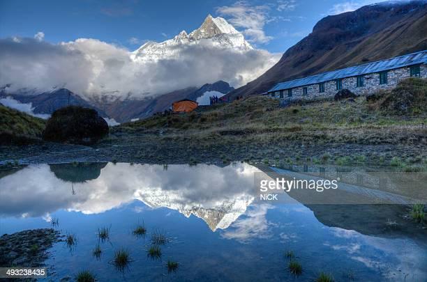 Trekking to Himalaya Annapurna base camp