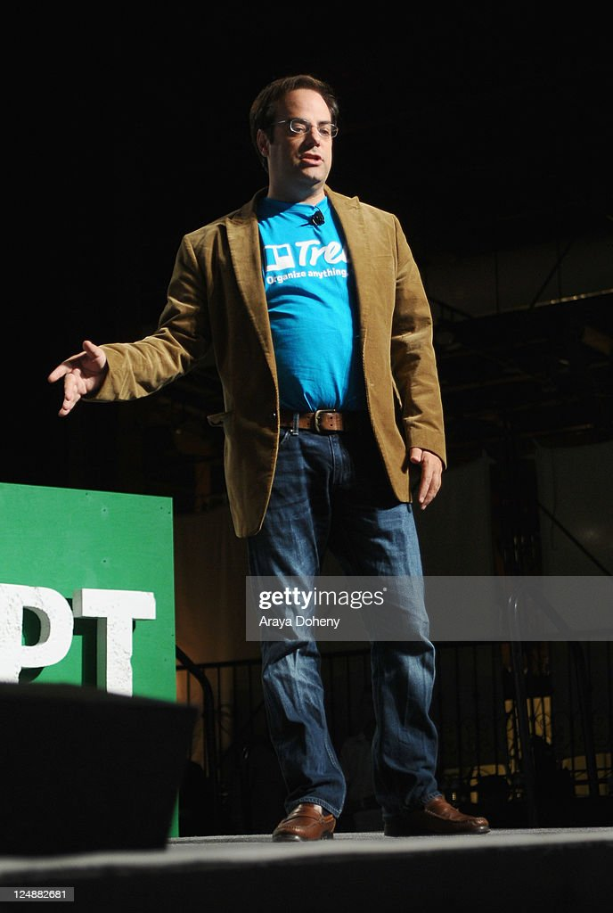 Trello CEO Joel Spolsky speaks onstage at Day 2 of TechCrunch Disrupt SF 2011 held at the San Francisco Design Center Concourse on September 13, 2011 in San Francisco, California.