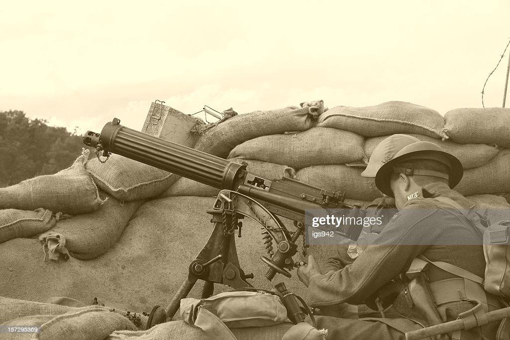 WWI Trench Sépia : Photo