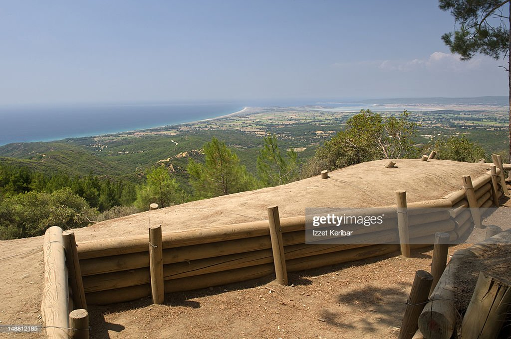 Trenches at Gallipoli. : Stock Photo