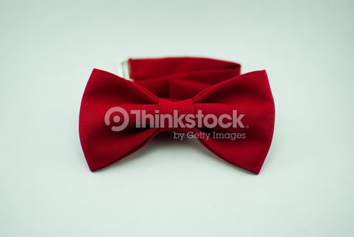 782c4077 Trendy Fashionable Red Bow Tie Isolated Stock Photo | Thinkstock