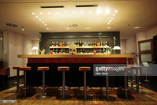 Schicke moderne bar