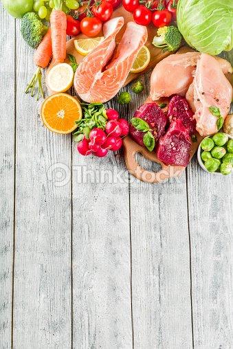 Trendy pegan diet : Stock Photo