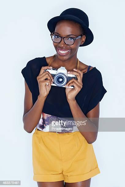 Trendy photographer