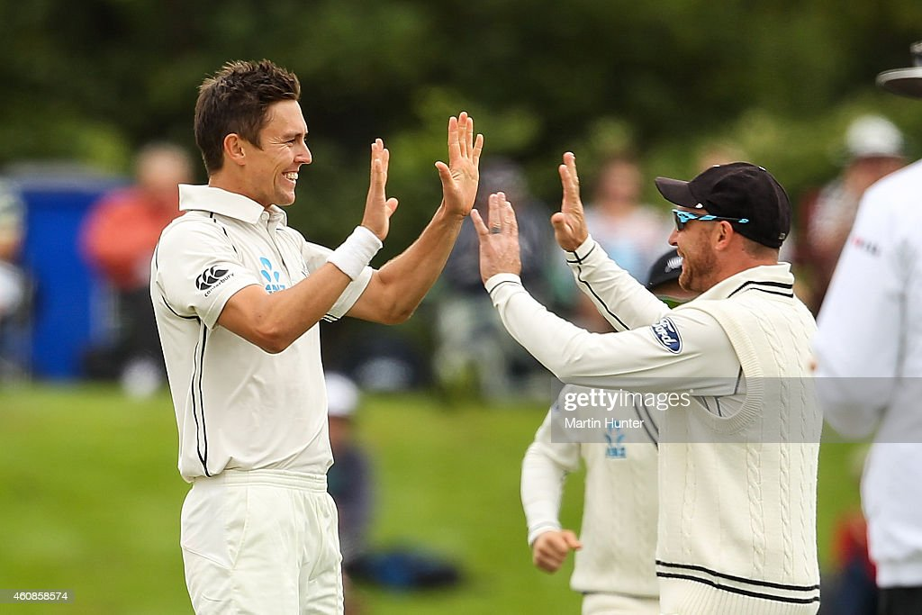 New Zealand v Sri Lanka - 1st Test: Day 3 : News Photo
