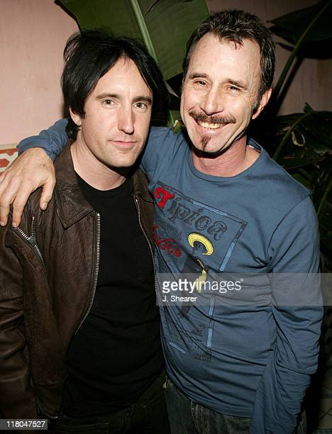 Trent Reznor and Jim Rose during Coming Home Studios PreGRAMMY Party at Spider Club in Hollywood California United States