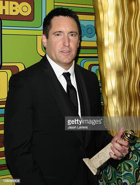 Trent Reznor attends HBO's 68th annual Golden Globe Awards Official after party at Circa 55 Restaurant on January 16 2011 in Los Angeles California