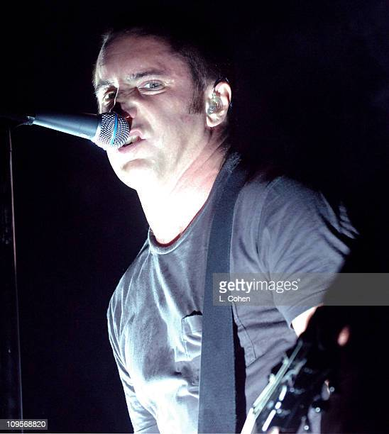 Trent Reznor of Nine Inch Nails during KROQ Almost Acoustic Christmas 2005 Day 1 Show at Gibson Amphitheater in Los Angeles California United States