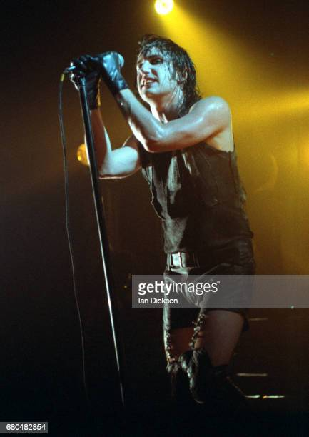 Trent Reznor of Nine Inch Nails performing on stage at The Forum Kentish Town London 25 May 1994