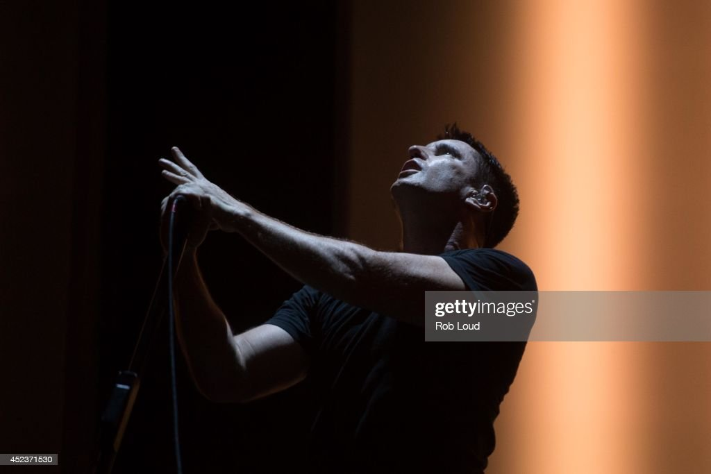 <a gi-track='captionPersonalityLinkClicked' href=/galleries/search?phrase=Trent+Reznor&family=editorial&specificpeople=239036 ng-click='$event.stopPropagation()'>Trent Reznor</a> of Nine Inch Nails performs at the Pemberton Festival on July 18, 2014 in Pemberton, Canada.