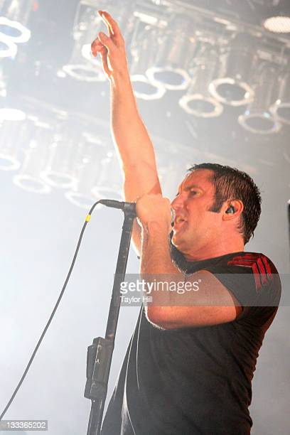 Trent Reznor of Nine Inch Nails performs on May 10 2009 in Atlanta Georgia