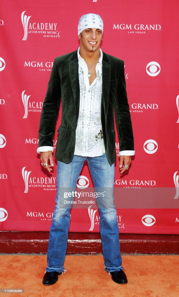 Trent Tomlinson during 42nd Academy of Country Music Awards Red Carpet at The MGM Grand Hotel and Casino Resort in Las Vegas Nevada