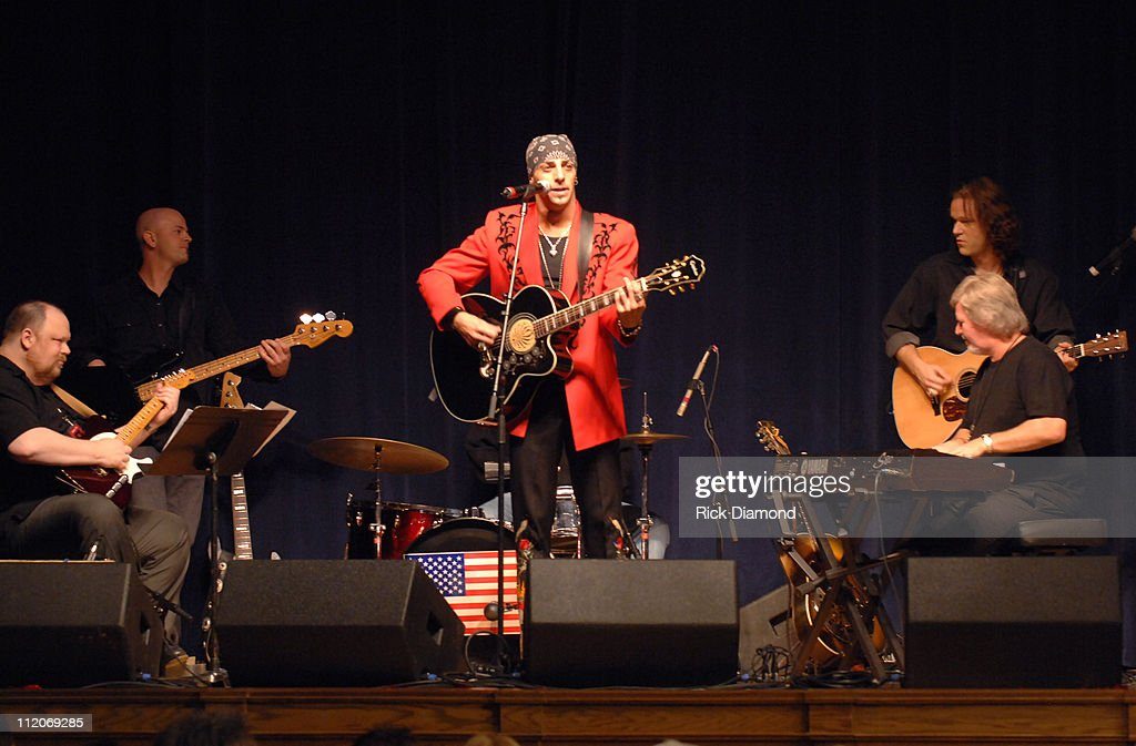 Trent Tomlinson during 'Rhinestones and Roses' A Tribute to Clothing Designer Manuel at War Memorial Auditorium in Nashville Tennessee United States