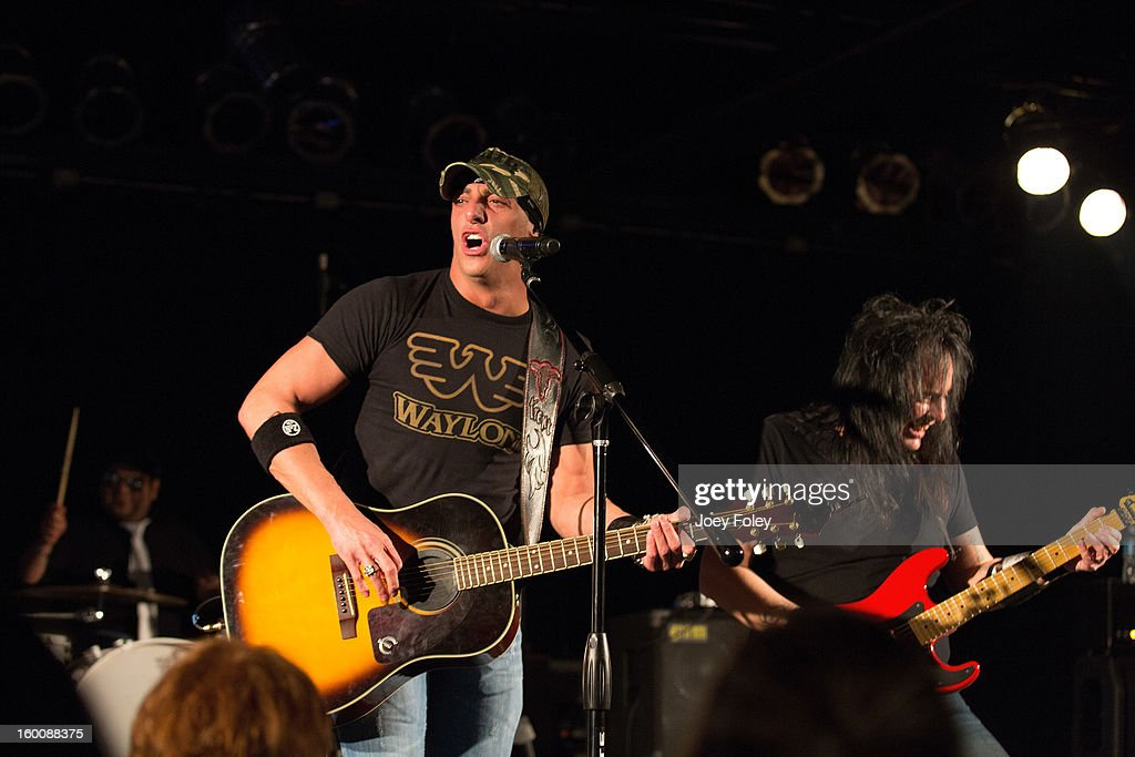 Trent Tomlinson performs in concert at 8 Second Saloon on January 25 2013 in Indianapolis Indiana