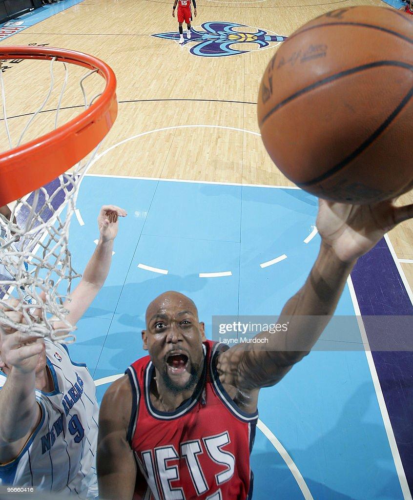 New Jersey Nets v New Orleans Hornets