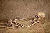 Skeleton remains.