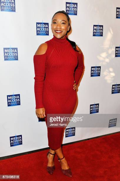 Treshelle Edmond attends the Media Access Awards 2017 at The Four Seasons on November 17 2017 in Beverly Hills California