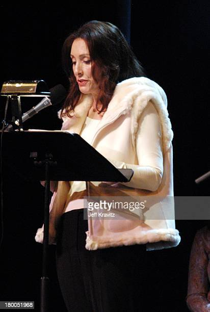Tress MacNeille during US Comedy Arts Festival J Edgar The Musical at The Wheeler Opera House in Aspen CO United States