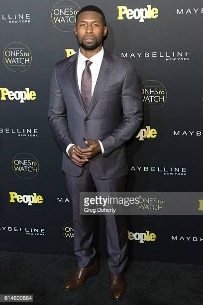 Trevante Rhodes arrives at the People's 'Ones To Watch' party at EP LP on October 13 2016 in West Hollywood California