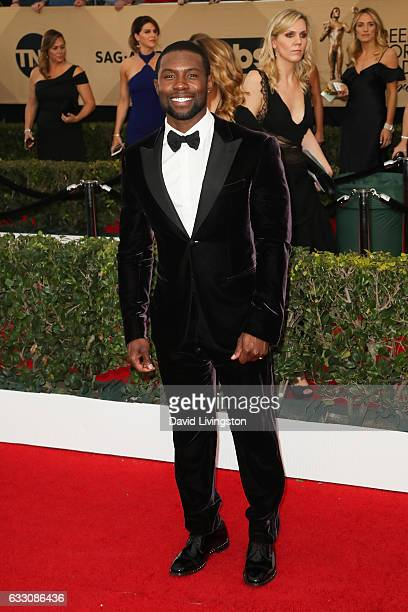 Trevante Rhodes attends the 23rd Annual Screen Actors Guild Awards at The Shrine Expo Hall on January 29 2017 in Los Angeles California