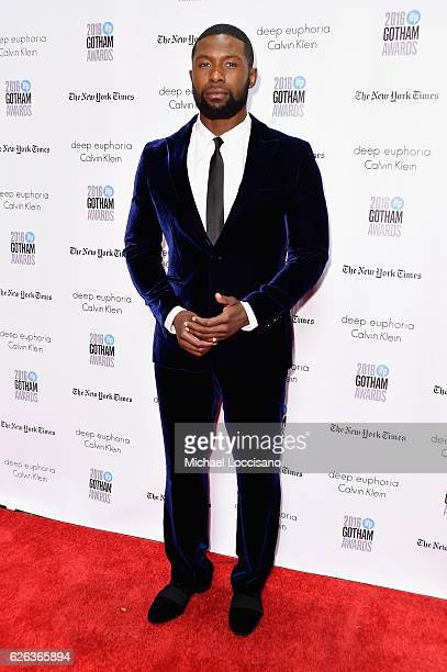 Trevante Rhodes attends the 26th Annual Gotham Independent Film Awards at Cipriani Wall Street on November 28 2016 in New York City