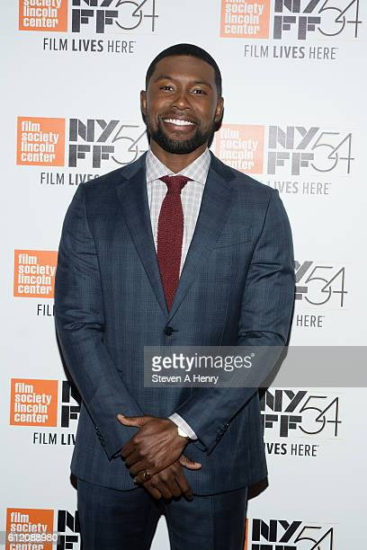 Trevante Rhodes attends the premiere of 'Moonlight' during the 54th New York Film Festival at Alice Tully Hall Lincoln Center on October 2 2016 in...
