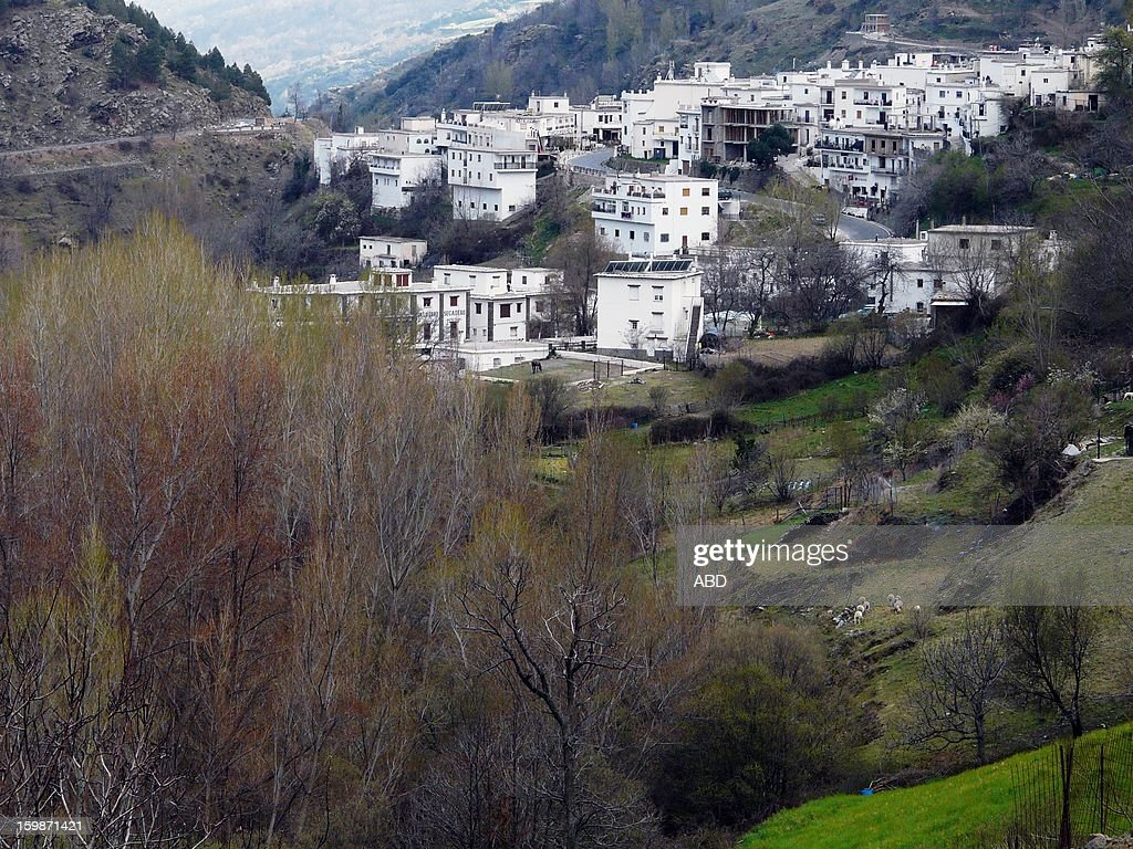 Trevelez-Serie Alpujarras : Stock Photo