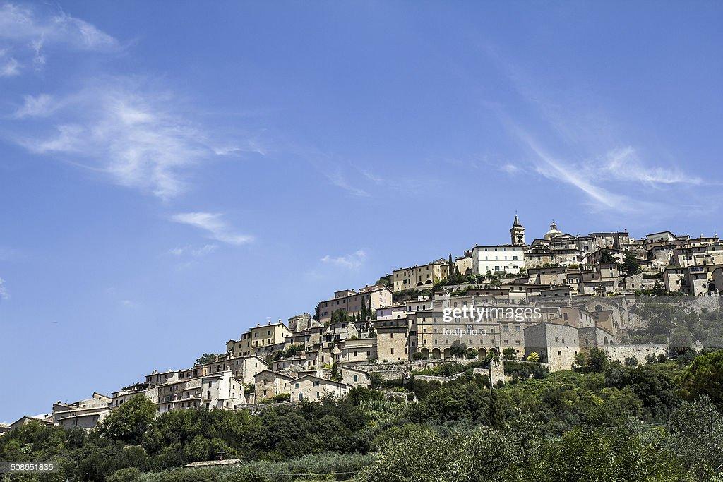 Trevi town (Umbria, Italy) : Stock Photo