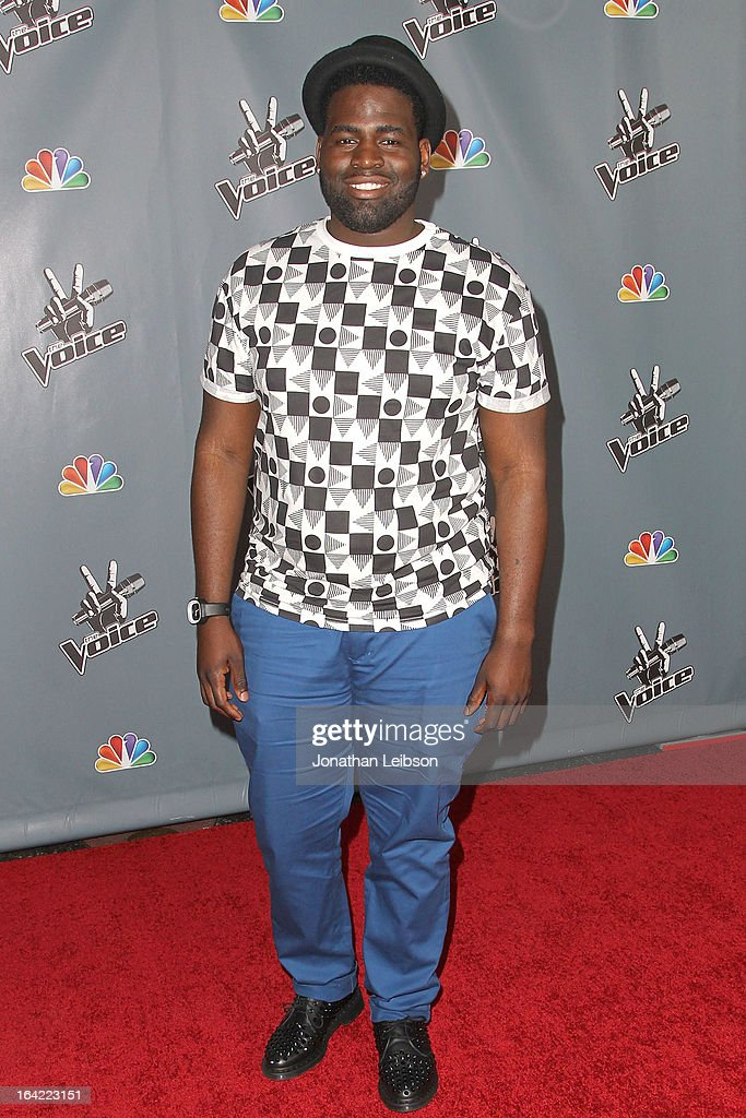 Trevin Hunte attends the NBC's 'The Voice' Season 4 Premiere at TCL Chinese Theatre on March 20, 2013 in Hollywood, California.