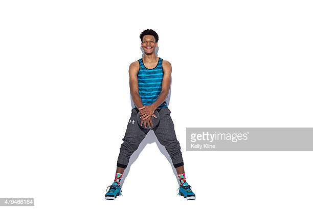 Trevon Duval poses for a portrait during the NBPA Top 100 Camp on June 18 2015 at John Paul Jones Arena in Charlottesville Virginia