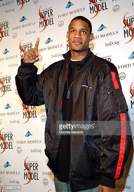 Trevor Ariza during Ford Models' Supermodel of the World Contest Arrivals at The Ford Tunnel in New York City New York United States
