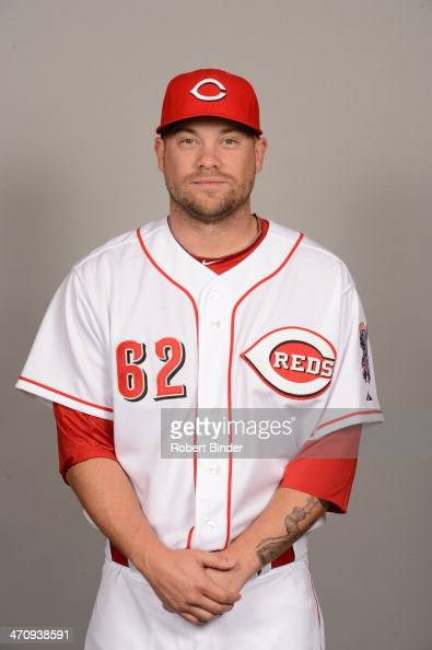 Trevor Bell of the Cincinnati Reds poses during Photo Day on Thursday February 20 2014 at Goodyear Ballpark in Goodyear Arizona