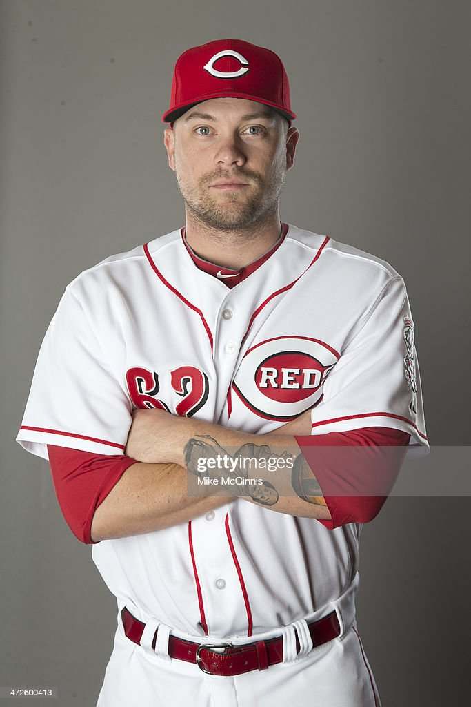 Trevor Bell of the Cincinnati Reds poses during picture day on February 20 2014 at Goodyear Park in Goodyear Arizona