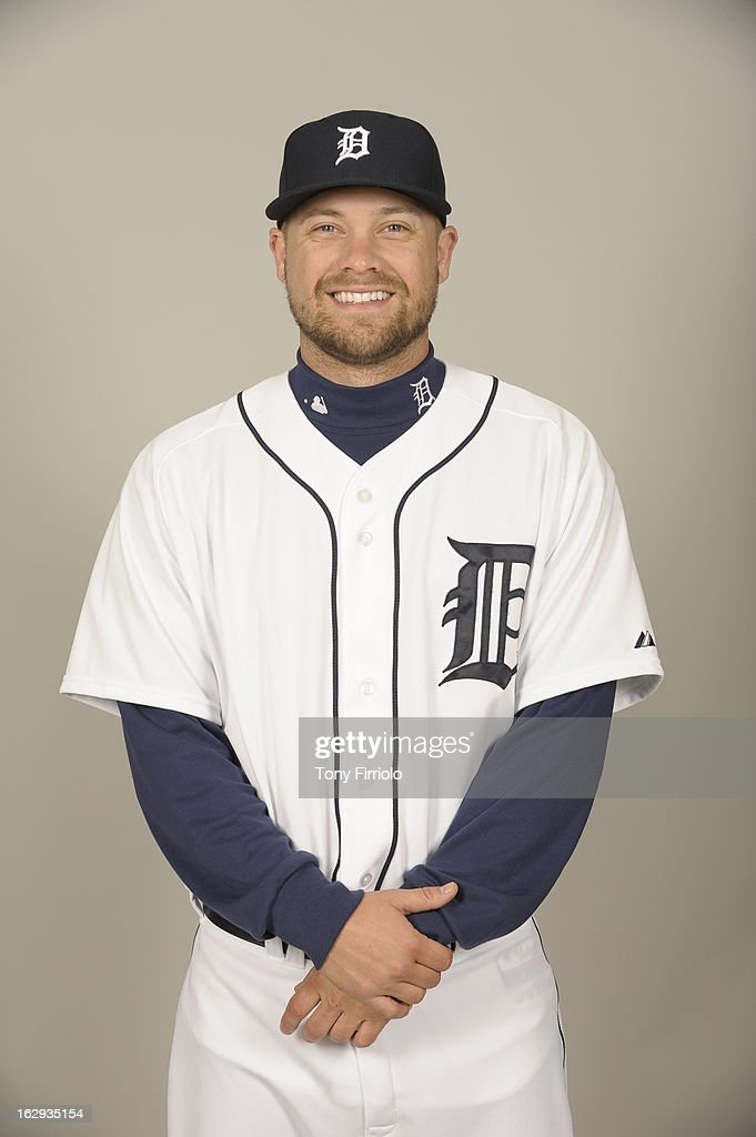Trevor Bell of the Detroit Tigers poses during Photo Day on February 19 2013 at Joker Marchant Stadium in Lakeland Florida