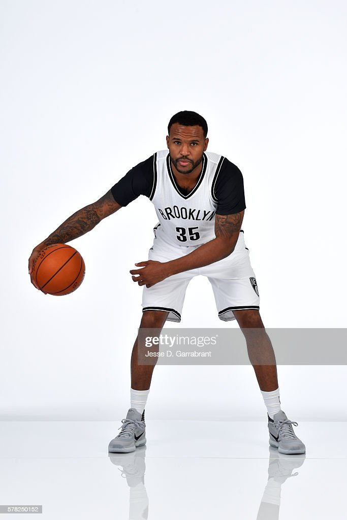 Trevor Booker of the Brooklyn Nets pose for a portrait at the HSS Training Facility on July 20 2016 in Brooklyn New York NOTE TO USER User expressly...
