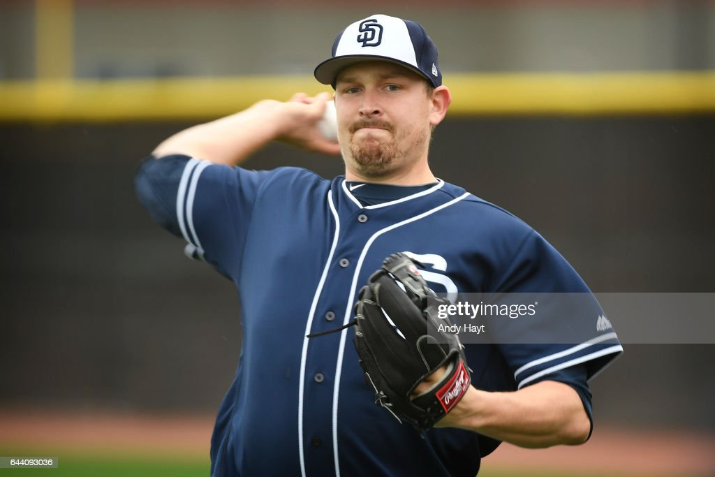 San Diego Padres Workout