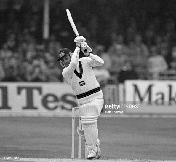 Trevor Chappell batting for Australia during the 1st Test match against England at Trent Bridge in Nottingham 21st June 1981 Australia won by four...