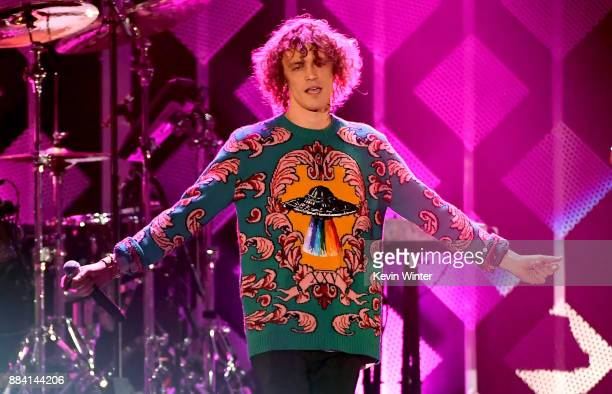 Trevor Dahl of Cheat Codes performs onstage during 1027 KIIS FM's Jingle Ball 2017 presented by Capital One at The Forum on December 1 2017 in...