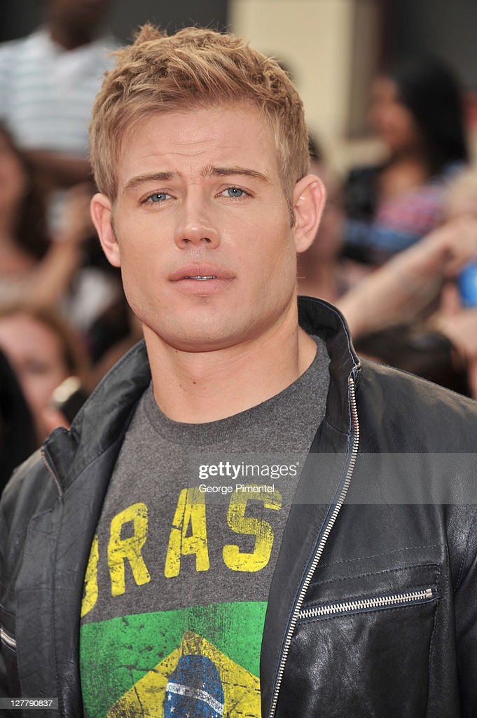 <a gi-track='captionPersonalityLinkClicked' href=/galleries/search?phrase=Trevor+Donovan&family=editorial&specificpeople=4313407 ng-click='$event.stopPropagation()'>Trevor Donovan</a> arrives on the red carpet at the 22nd Annual MuchMusic Video Awards at the MuchMusic HQ on June 19, 2011 in Toronto, Canada.