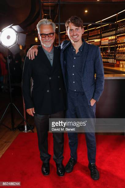 Trevor Eve and Jack Eve attend the 'Bees Make Honey' official screening during the Raindance Film Festival at the Vue West End on September 23 2017...