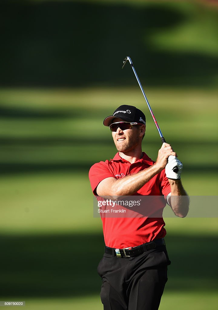 Trevor Fisher Jnr of South Africa plays a shot during the second round of the Tshwane Open at Pretoria Country Club on February 12, 2016 in Pretoria, South Africa.