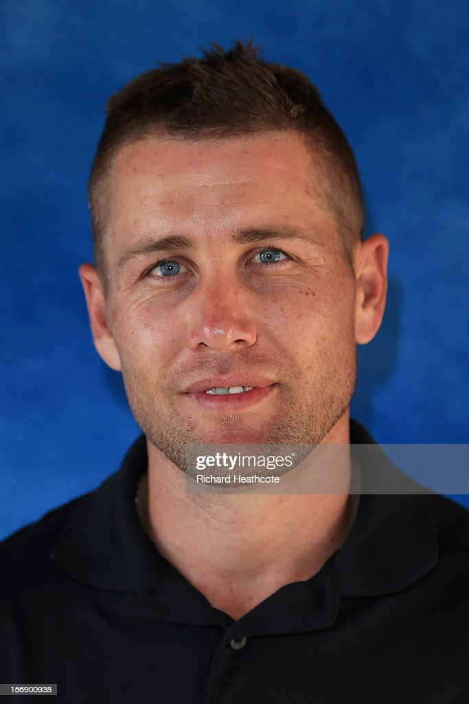Trevor Fisher Jnr of South Africa poses for a portrait after the first round of the European Tour Qualifying School Finals at PGA Catalunya Resort on November 24, 2012 in Girona, Spain.