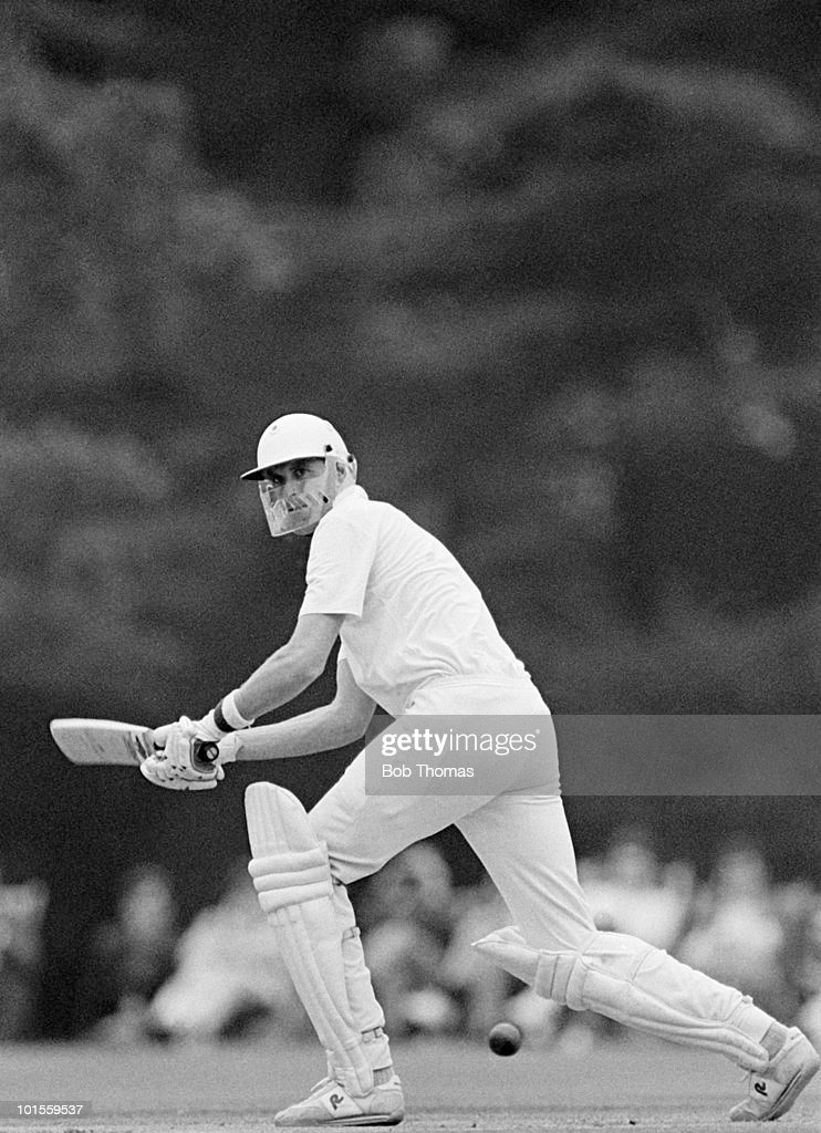 Trevor Franklin of New Zealand during the Lavinia Duchess of Norfolk's XI v New Zealand match played at Arundel on the 22nd June 1986.