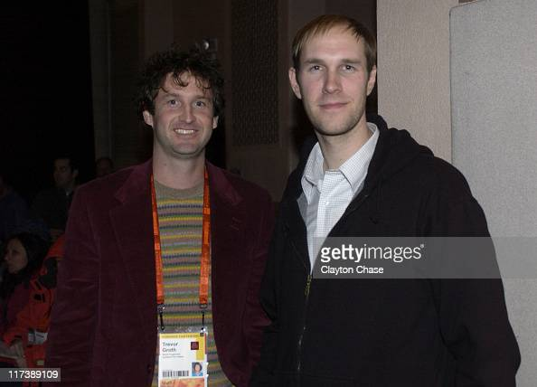 Trevor Groth and Craig Zobel Director during 2007 Sundance Film Festival 'The Great World of Sound' Premiere at Library in Park City Utah United...