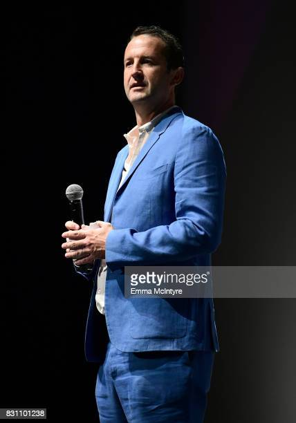 Trevor Groth Director of Programming at Sundance Film Festival speaks onstage at 2017 Sundance NEXT FEST at The Theater at The Ace Hotel on August 13...